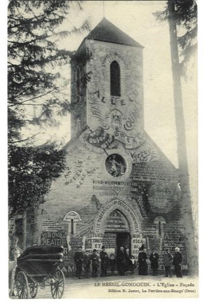 Mesnil-Gondouin - L'Eglise et la Façade