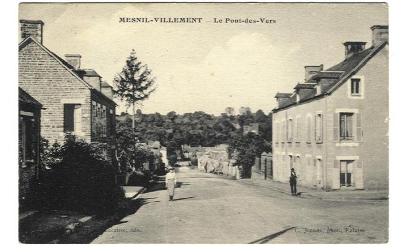 Mesnil-Villement - Le Pont des Vers