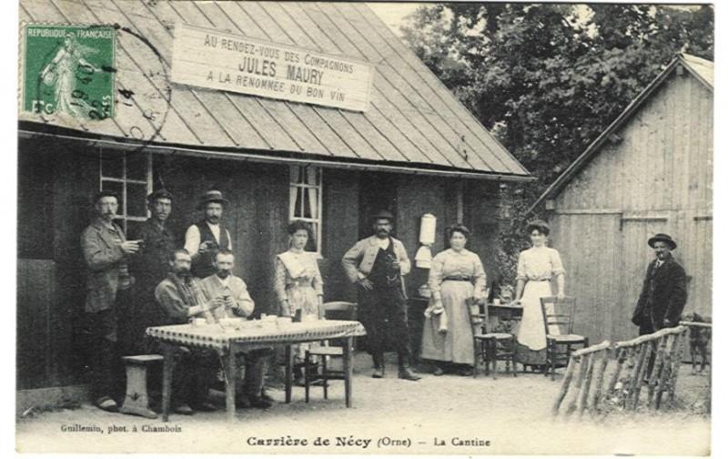 Nécy - La Cantine des Carrières