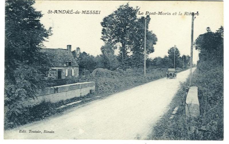 St Andre de Messei - Le Pont Morin et la Rivière