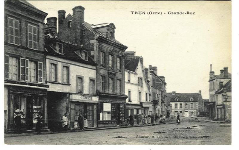 Trun - Grande Rue