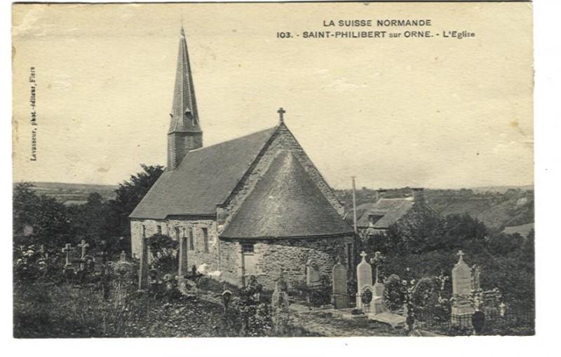 St Philbert sur Orne - L'Eglise