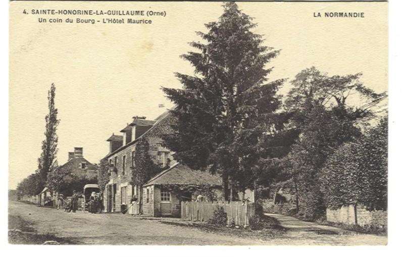 Ste Honorine la Guillaume - L'Hôtel Maurice