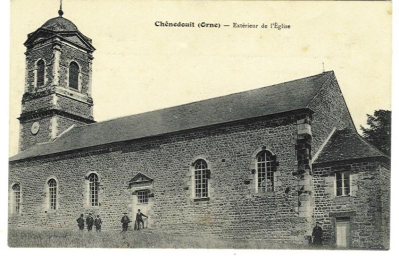 Chênedouit - Extérieur de l'Eglise