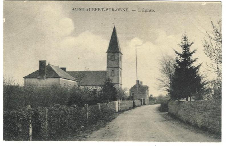 St Aubert sur Orne - L'Eglise