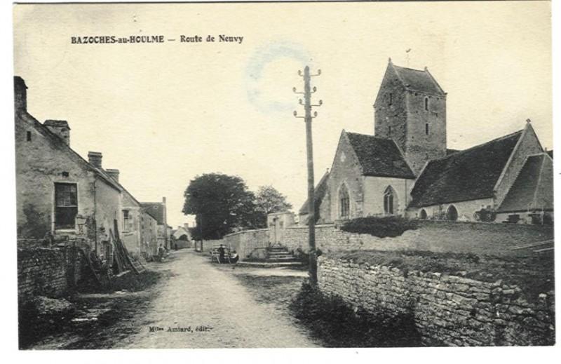 Bazoche au Houlme - Route de Neuvy