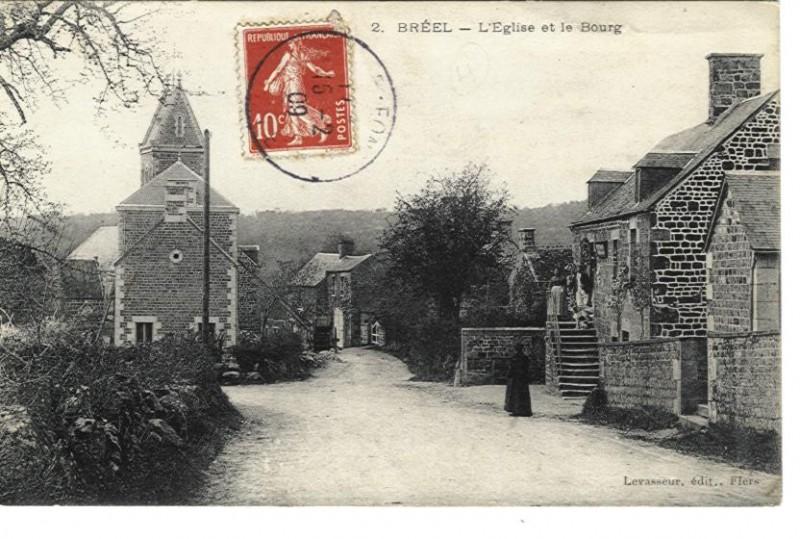 Bréel - L'Eglise et le Bourg
